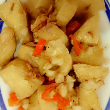 Tahu Cabe Garam (#SimpleCooking)