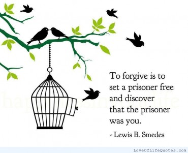 To Forgive Is To Set Ourselves Free